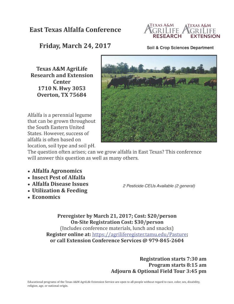 Alfalfa Conference